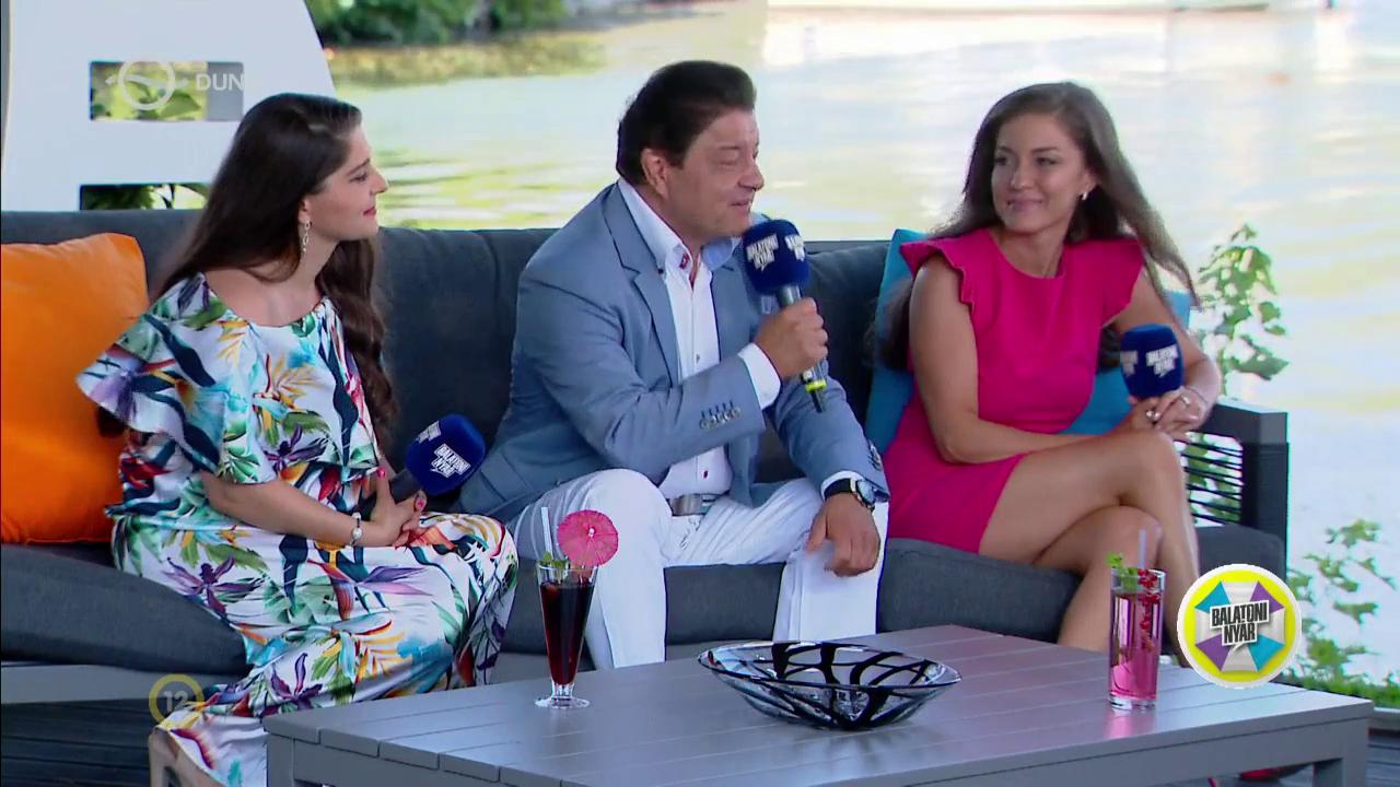 The Nyári family on Duna TV's Balatoni nyár