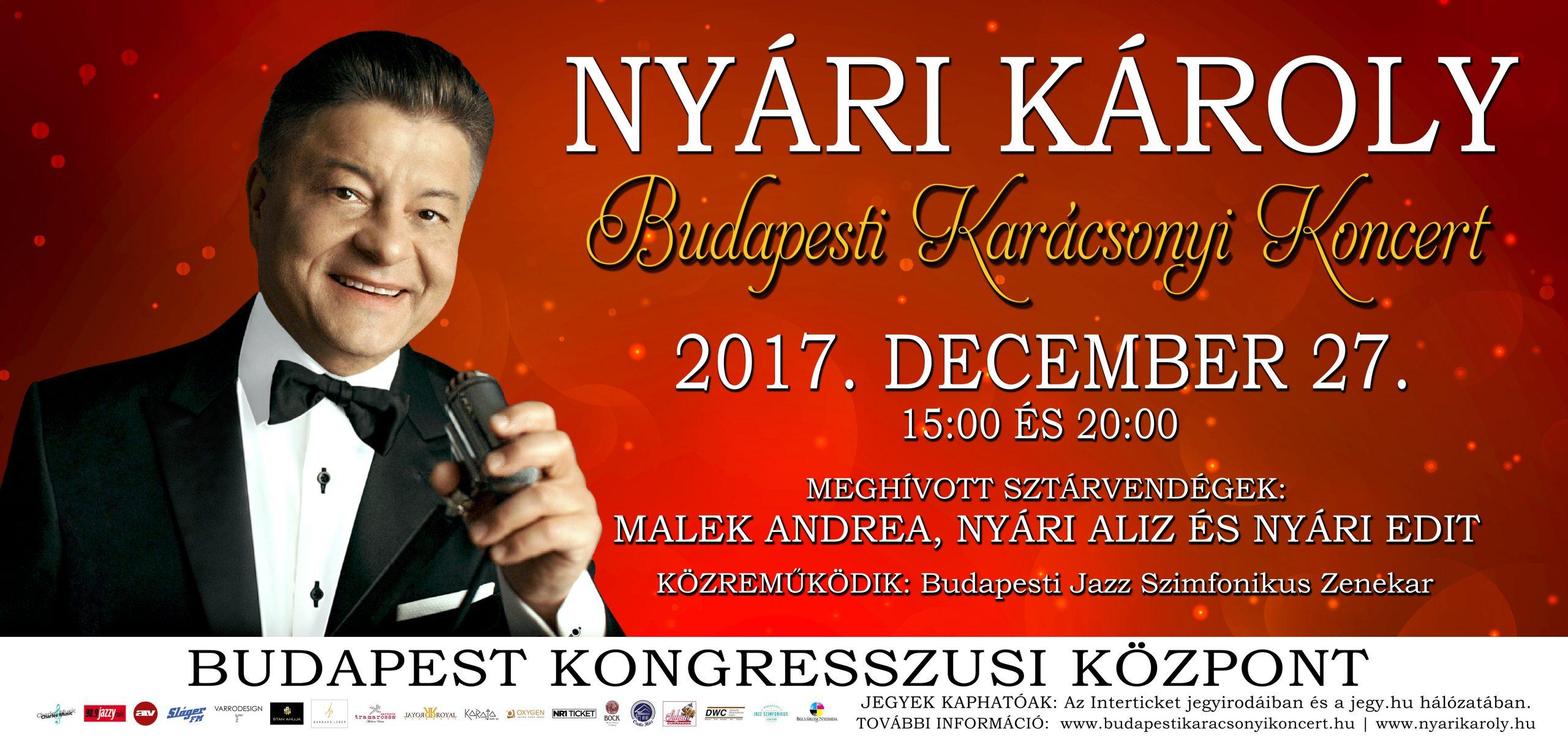 BUDAPESTI KARÁCSONYI KONCERT 2017.