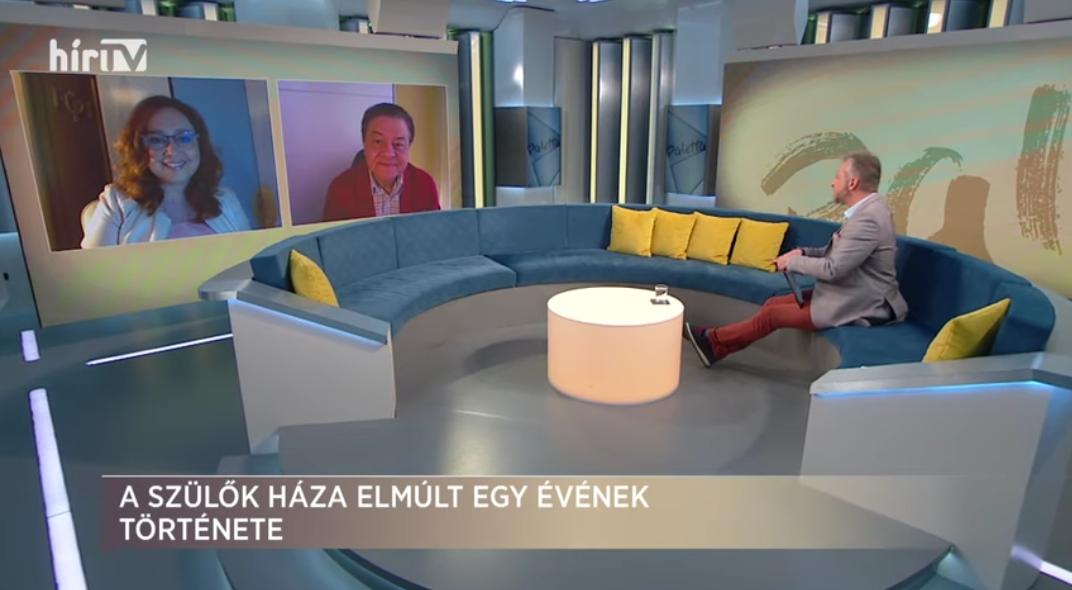 Károly Nyári in Hír TV's Paletta